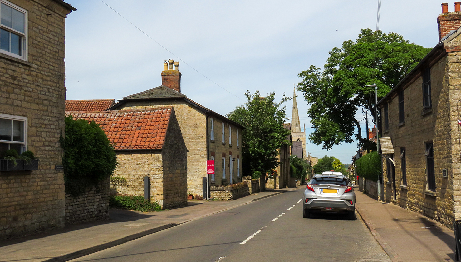 Waltham on the Wolds - High St - Now
