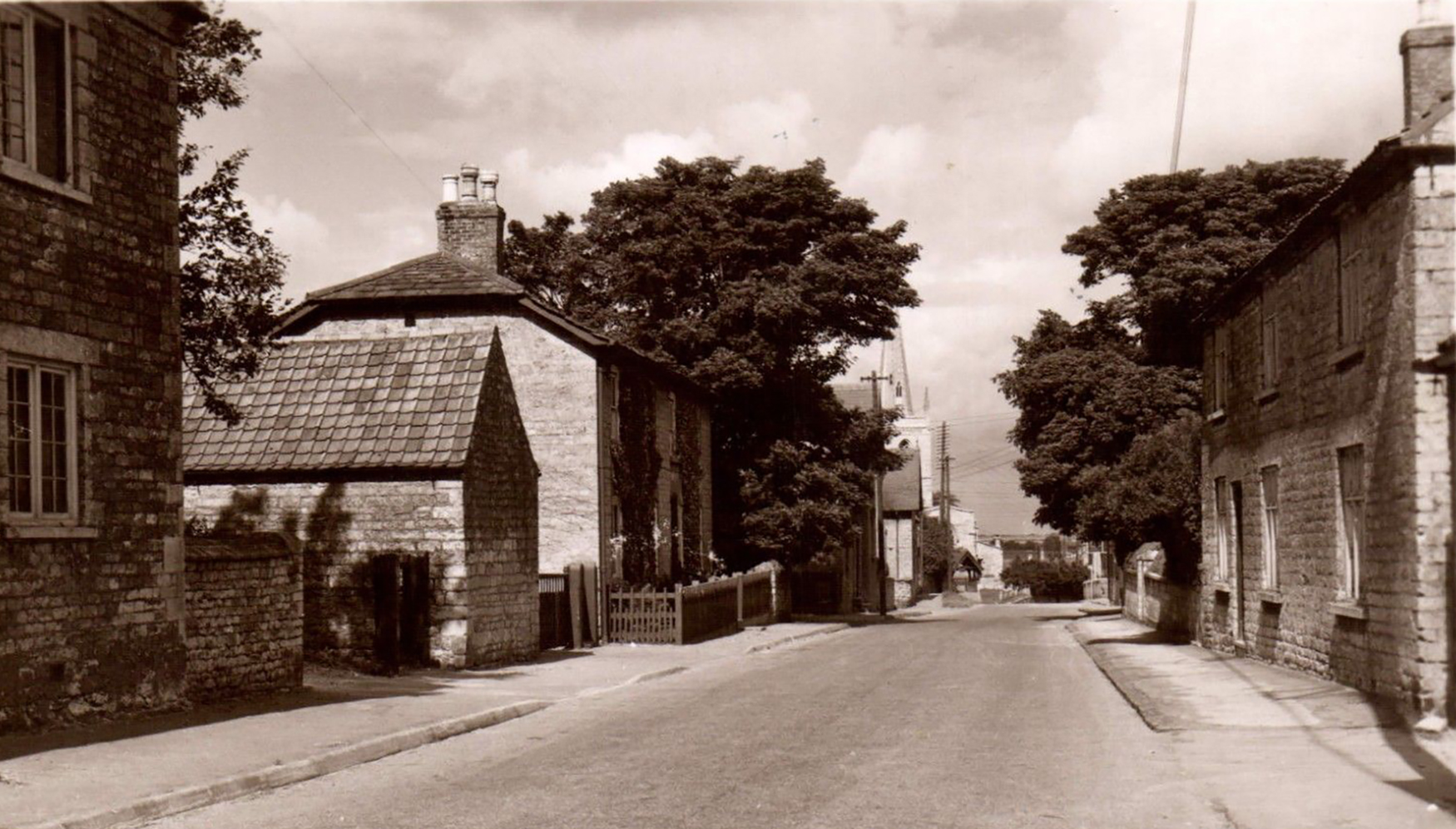 Waltham on the Wolds - High St - Then