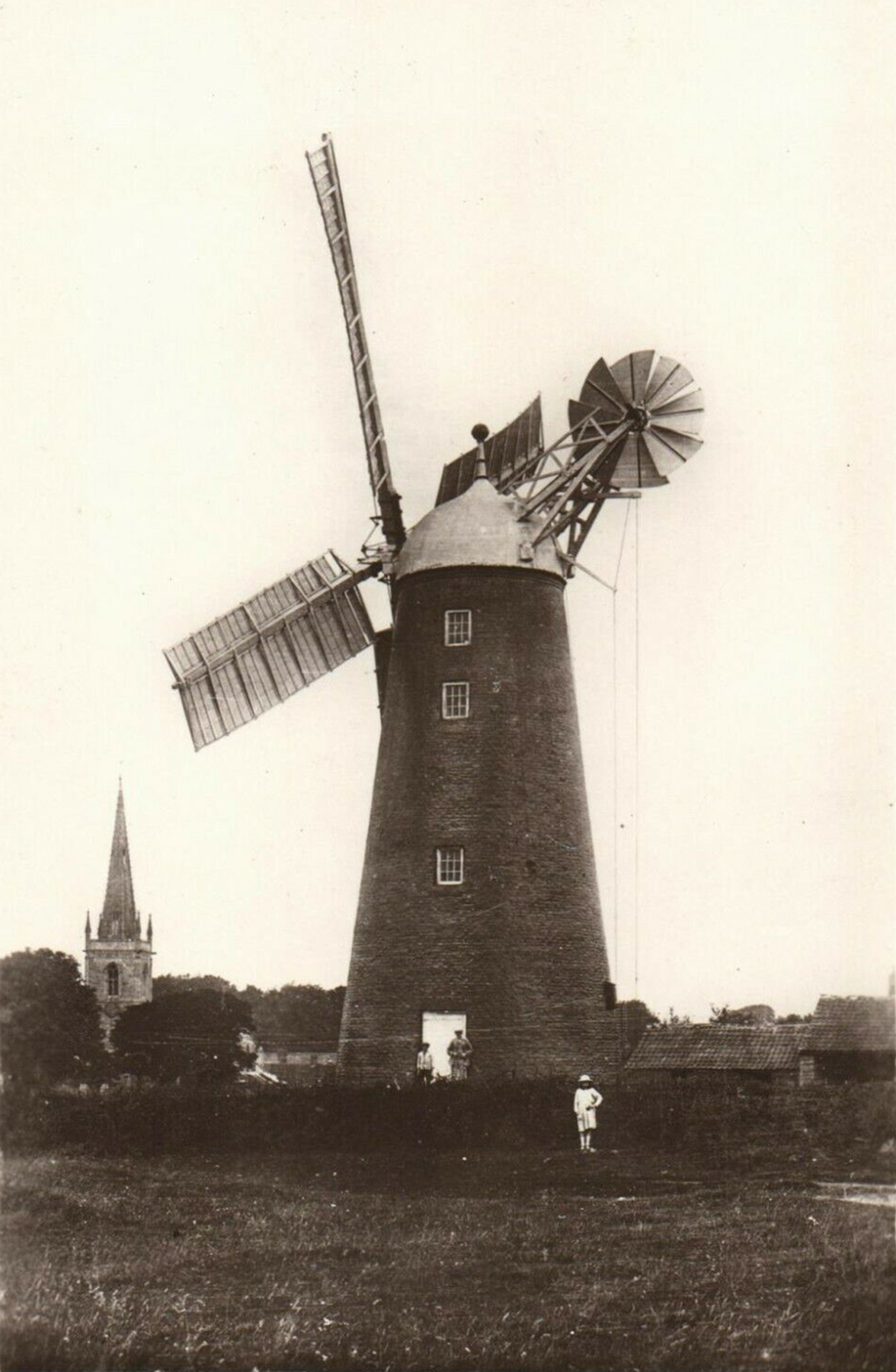 Waltham on the Wolds - Tower Mill - Then