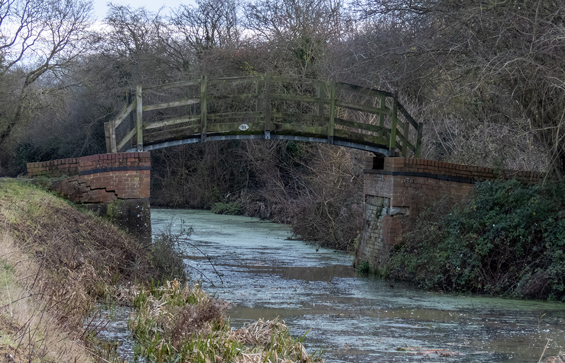 Grantham Canal - Casthorpe Bridle Bridge - Now