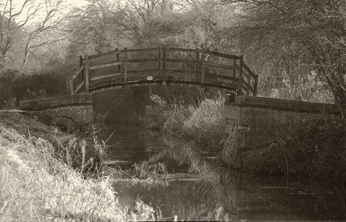 Grantham Canal - Casthorpe Bridle Bridge - Then