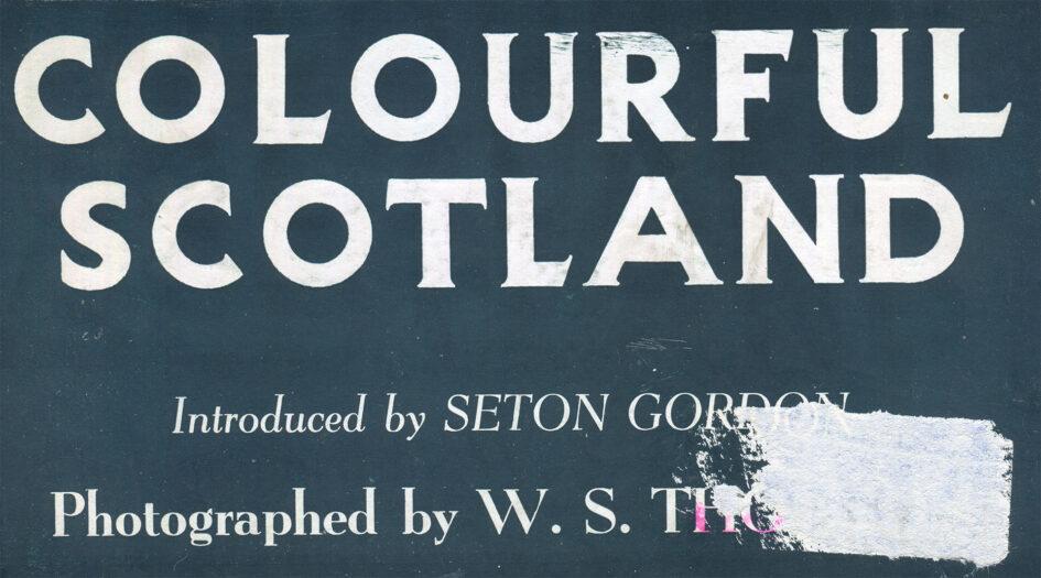 W.S. Thomson - Colourful Scotland - Cover title